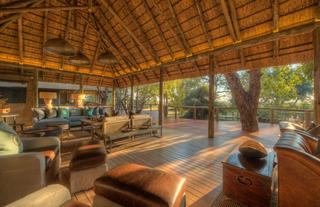 Camp Moremi Guest area