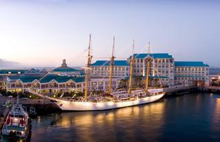 Exterior of Table Bay Hotel and the Victoria & Alfred Waterfront
