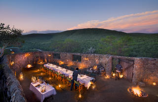 Dine Under the African Sky