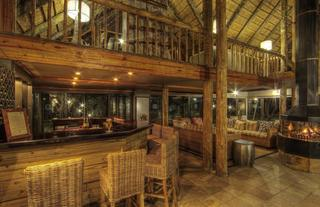 Inside Savute Safari Lodge