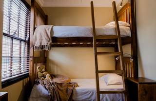 Separate Bedroom with two Bunk Beds | Family Suite