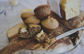 Homemade Fresh Muffins and Breads