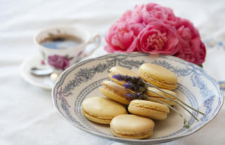 Homemade Macarons for Afternoon Tea