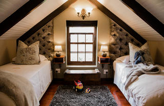 Family Cottage Loft Area for Children
