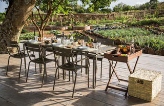 Garden to table lunch in the Shamba