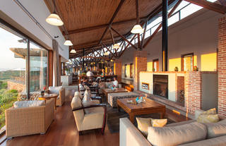 Forest Lodge lounge area