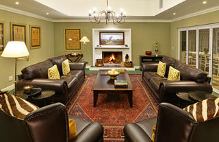 Founders Lodge Lounge with Fireplace