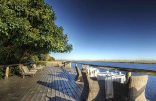 The expansive Chobe Deck