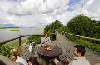 Chobe Game Lodge Boardwalk & Deck