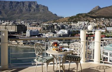 View of Harbour, Waterfront and Table Mountain