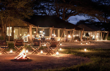 Legendary Serengeti Camp