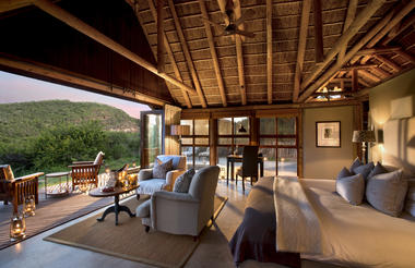 Four intimate and luxurious safari lodges