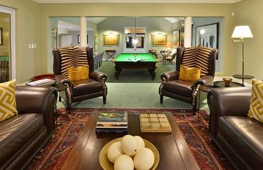Founders Lodge Billiards Room Lounge