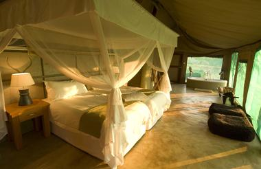 Sanctuary Puku Ridge Camp tented room