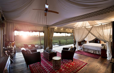 Duba Plains Bedroom